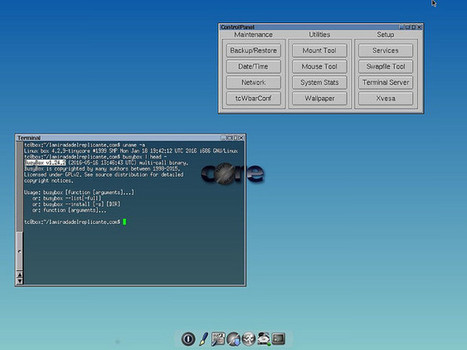 Disponible Tiny Core Linux 7.1 | Noticias | Scoop.it