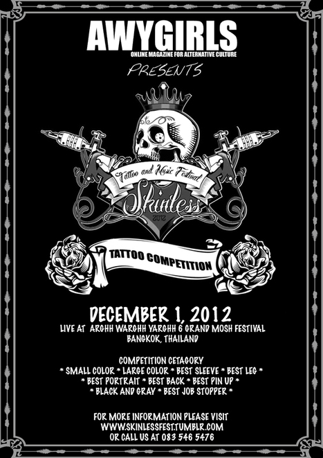 SKINLESS TATTOO AND MUSIC FEST LIVE AT AWY6 | FMSCT-Live.com | Scoop.it