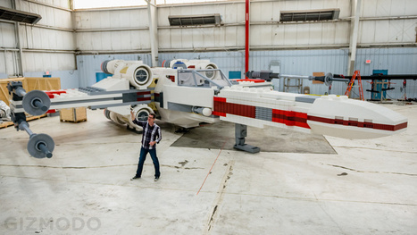 This Incredible Full Scale Lego X-Wing Is the Largest Model In History | Universal curiosity, appreciation and imagination. | Scoop.it