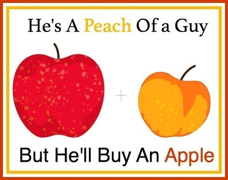 He's a Peach Of a Guy But He'll Buy An Apple | Tribus | Scoop.it
