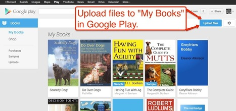 Free Technology for Teachers: Upload Your Own PDFs and EPUBs to Google Play Books | books | Scoop.it