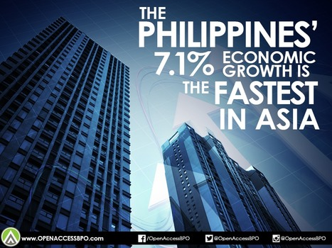 The Philippines' 7.1% economic growth is fastest in Asia   Open Access BPO   Outsourcing and Customer Service   Scoop.it