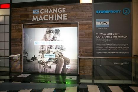 Le centre commercial Westfield accueille des vitrines interactives eBay | La Minute Retail | Technologie de l'Information et Communication TIC | Scoop.it