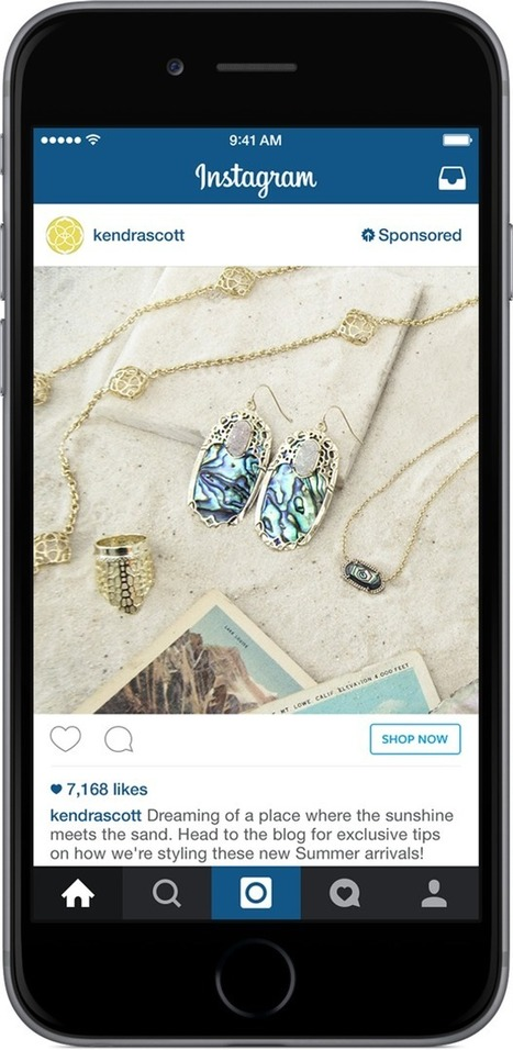INSTAGRAM : l'app s'ouvre au shopping social! | MY DIGITAL LUXURY GALAXY | Innovation & Creative Time! | Scoop.it