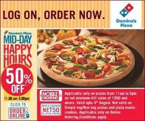 Buy 1 Get 1 offer on Pizzaa Hut - Voucher Codes India | Latest Blog about Coupon Code | Scoop.it