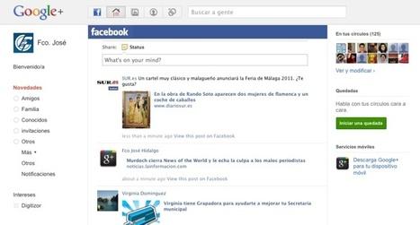 Google+Facebook – añadiendo el stream de Facebook en Google+   Google+, Pinterest, Facebook, Twitter y mas ;)   Scoop.it