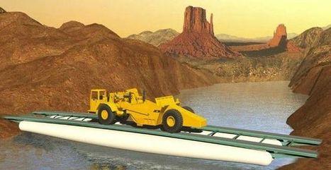 Ingenieros españoles desarrollan un puente inflable mucho más ligero que las soluciones existentes, ideal para su uso en situaciones de emergencia | Ingenieros Civiles | Scoop.it