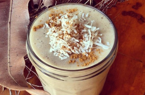 Nourishing Autumn Chai Smoothie [Vegan, Gluten-Free] | My Vegan recipes | Scoop.it