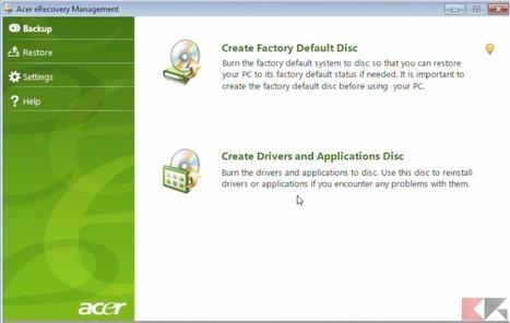 Reset, ripristino e partizioni recupero di un PC portatile - Chimera Revo | recupero dati | Scoop.it