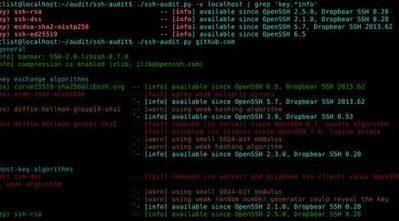 ssh-audit is a tool for ssh server auditing. – Security List Network™ | Security & Hacktivism | Scoop.it