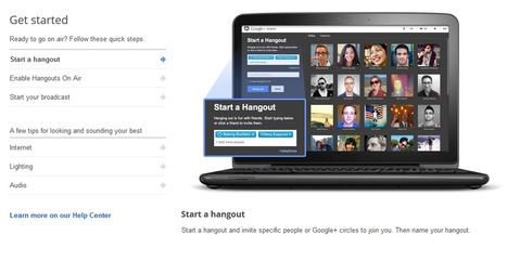 Launch of Google+ Hangouts On Air: broadcast your conversation to the world | Google plus | Scoop.it