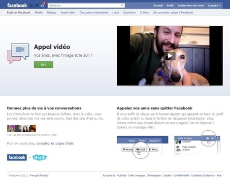Facebook videochat : mode d'emploi | Time to Learn | Scoop.it