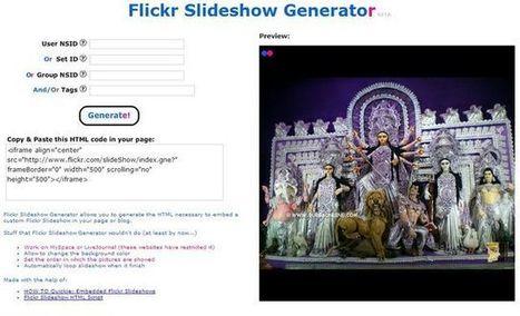 Flickr Slideshow, presentaciones para tu blog con fotos de Flickr | VIM | Scoop.it