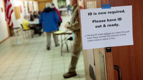Ex-Staffer: Wisconsin GOPers Cheered Voter ID Bill For What It 'Could Do For Us' | Election by Actual (Not Fictional) People | Scoop.it