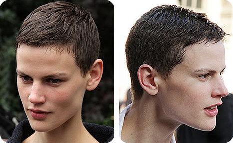 Haartrends 2014. Jongensachtige kapsels voor lang, middellang en kort haar - Trendystyle, de trendy vrouwensite   kapsel trends   Scoop.it