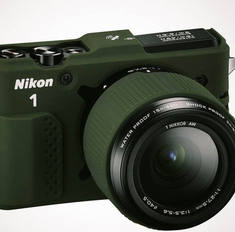 World's first waterproof, shockproof interchangeable lens camera | Tecnologia y otros | Scoop.it