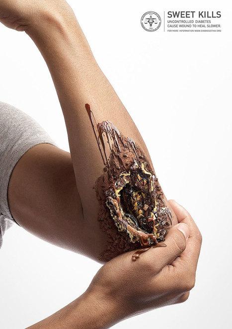 | Une Campagne choc contre le diabète | Art et Publicité | Scoop.it