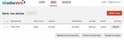 TalkWalker Alerts. Un service complet de veille par mail - Les outils de la veille | Les outils du Web 2.0 | Scoop.it