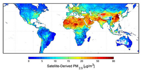 NASA - New Map Offers a Global View of Health-Sapping Air Pollution | Environmentalist | Scoop.it
