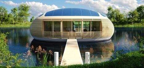 Materiali riciclati per la casa in legno che galleggia | Rinnovabili | Casa passiva | Scoop.it