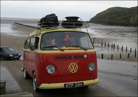 In photos: Hundreds of Volkswagens join Brean beach mass convoy - Burnham-On-Sea | VW Camper Vans | Scoop.it