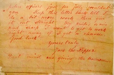 Metropolitan Police Service - History - Jack the Ripper   PSHS Sociology: Social Deviants   Scoop.it