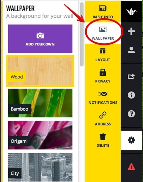 Teacher's Guide to Using Padlet in Class ~ Educational Technology and Mobile Learning | Moodle and Web 2.0 | Scoop.it