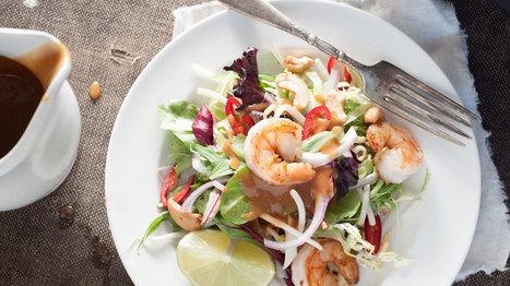 Accord mets et vins: Salade de crevettes et litchis | Vos Clés de la Cave | Scoop.it