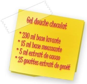 Recette cosmétique : faire un gel douche naturel au chocolat pour les enfants | Les recettes cosmétiques | Scoop.it