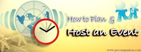 How To Plan & Host An Event | 25 Ways for Branding Your Company & To Increase Your Name Recognition | Scoop.it