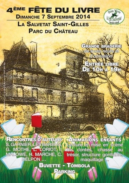La grande «  Fête du Livre » de la Salvetat Saint Gilles   Salvetat Durable   Scoop.it