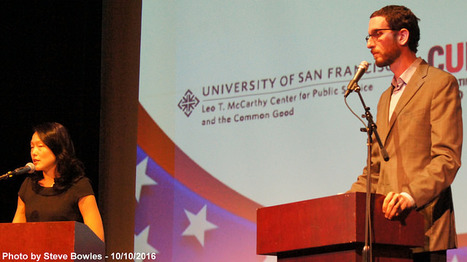 Kim, Wiener square off in debate at USF on building, campaign funding | USF in the News | Scoop.it