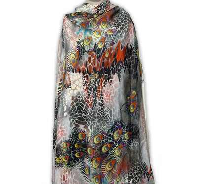 Digital printed fabrics Silk cotton Modal viscose | Scarves | Shop Scarf styles, Digital printed fabric, Tunic and Indian clothing | Scoop.it