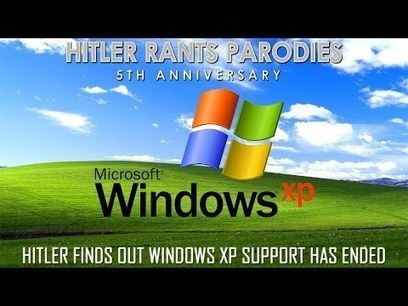Hitler finds out Windows XP support has ended | Staged | Scoop.it