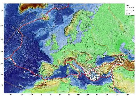 The earthquake risk and Europe | omnia mea mecum fero | Scoop.it