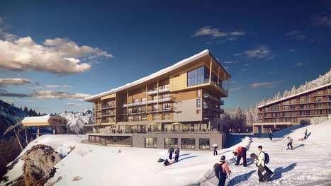 Ouverture confirmée en décembre pour le premier hôtel 5* @Les Arcs 2000 | Classement HTM | Scoop.it
