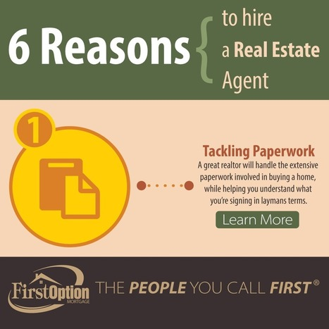 6 Reasons to Hire a Real Estate Agent [INFOGRAPHIC] | Real Estate Agent Training | Scoop.it