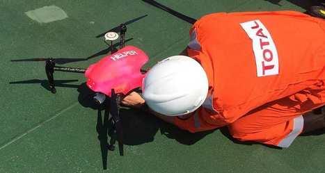 Helper, le drone secouriste qui détecte les hommes à la mer | Actualité Aéromodélisme | Scoop.it