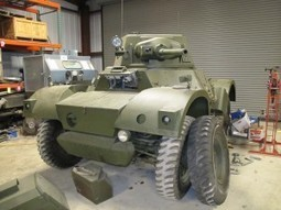 Daimler Armoured Car Mk II – WalkAround | History Around the Net | Scoop.it