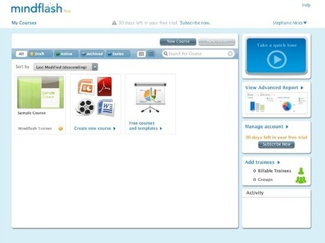 Mindflash Review – Host Employee Training Courses Online | Best HR Apps | Scoop.it