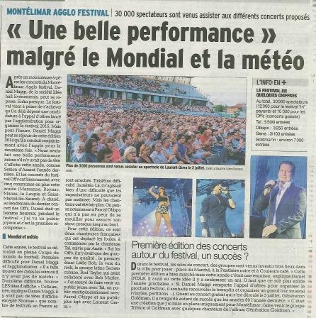 30 000 spectateurs cette année ! | Montélimar Agglo Festival 2014 | Scoop.it