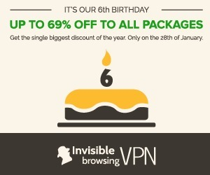 Up to 69% OFF lifetime discount - Anniversary Sale - ibVPN.com   Invisible Browsing VPN   Scoop.it
