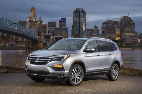 2016 Honda Pilot Arrives at Dealerships on June 18 | Edmunds.com | Vehicle Selection | Scoop.it
