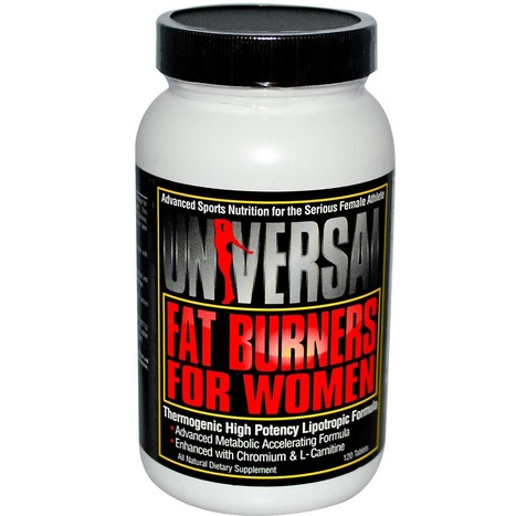 Universal Nutrition Fat Burner For Women-120Caps | Nutrition Supplements | Scoop.it