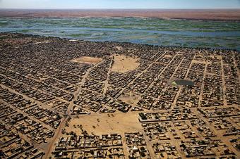 Defensie weblog: Luchtfoto van Gao (Mali) | Mali | Scoop.it