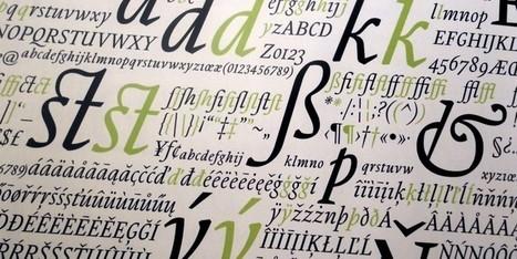 Dónde descargar tipografías gratuitas | curiosidad de una mujer madura | Scoop.it