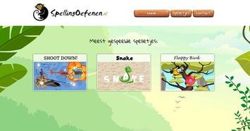 Edu-Curator: 'SpellingOefenen': Leerlingen oefenen gratis hun eigen woordpakket met spelletjes | Edu-Curator | Scoop.it