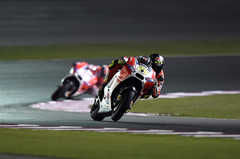 Qatar MotoGP test: Iannone leads Dovizioso in Ducati one-two | Ductalk Ducati News | Scoop.it