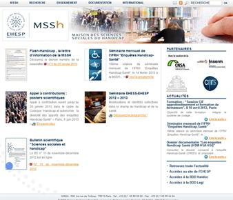 Lancement du site internet de la MSSH et de ses bases de données HANDOC et LEGI – MSSH | Autisme actu | Scoop.it