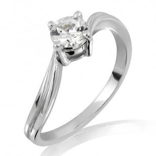 Shop 18K Gold and 0.25 Diamond Ring Online From MyGlitzJewels   myglitzjewels   Scoop.it
